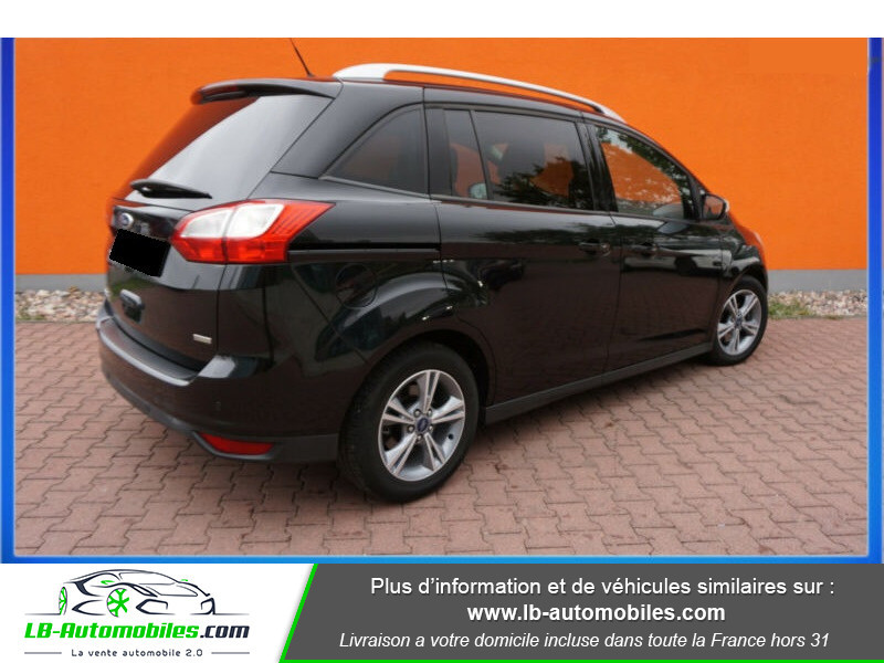 Ford C-Max 1.0 Ecoboost 125 ch Noir occasion à Beaupuy - photo n°3