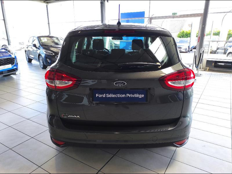 Ford C-Max 1.0 EcoBoost 125ch Stop&Start Titanium Euro6.2 Gris occasion à Chenôve - photo n°6