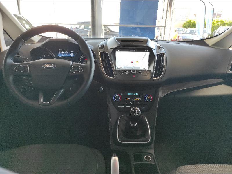 Ford C-Max 1.0 EcoBoost 125ch Stop&Start Titanium Euro6.2 Gris occasion à Chenôve - photo n°13
