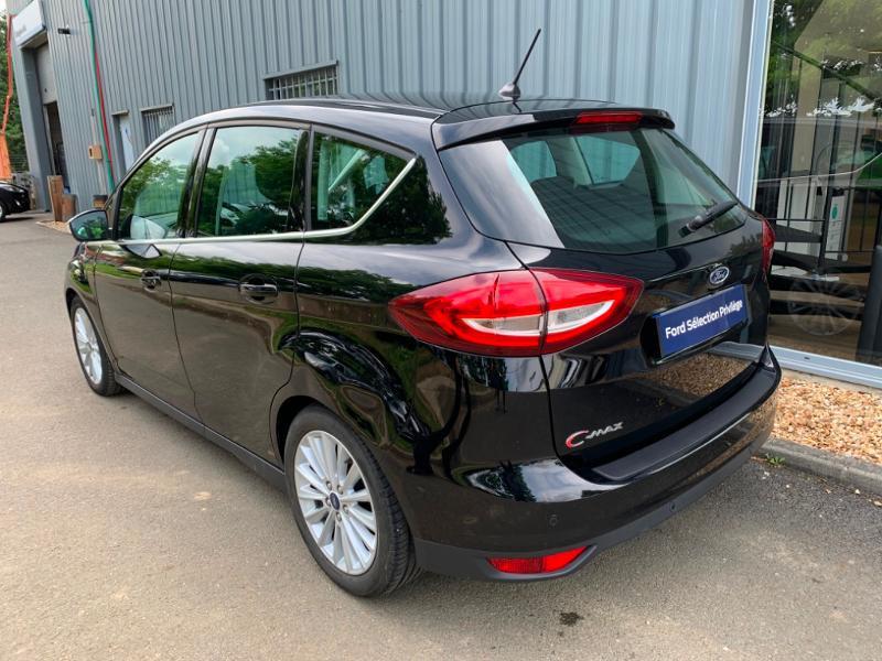 Ford C-Max 1.0 EcoBoost 125ch Stop&Start Titanium Euro6.2 Noir occasion à Saint-Doulchard - photo n°4