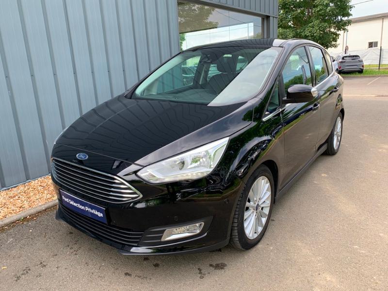 Ford C-Max 1.0 EcoBoost 125ch Stop&Start Titanium Euro6.2 Noir occasion à Saint-Doulchard