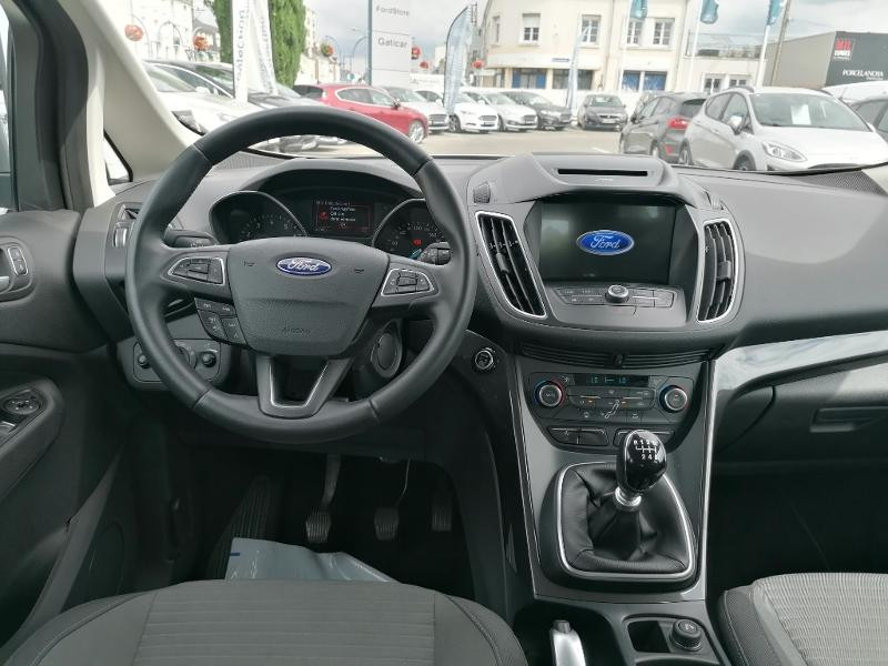 Ford C-Max 1.0 EcoBoost 125ch Stop&Start Titanium Euro6.2 Gris occasion à Fleury-les-Aubrais - photo n°7