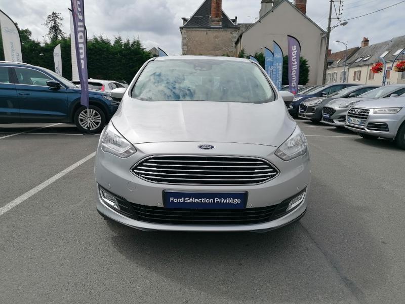 Ford C-Max 1.0 EcoBoost 125ch Stop&Start Titanium Euro6.2 Gris occasion à Fleury-les-Aubrais - photo n°2