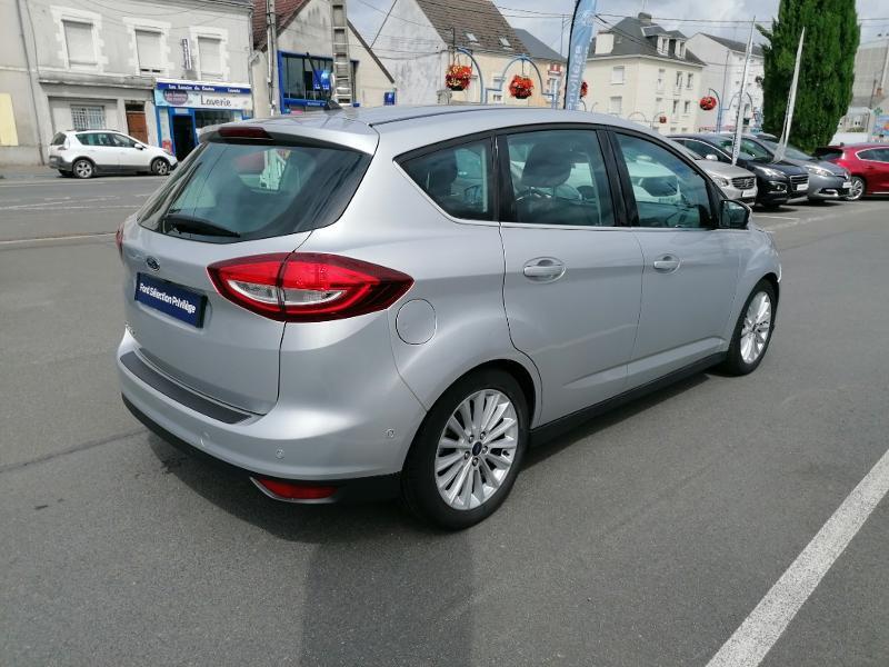 Ford C-Max 1.0 EcoBoost 125ch Stop&Start Titanium Euro6.2 Gris occasion à Fleury-les-Aubrais - photo n°4