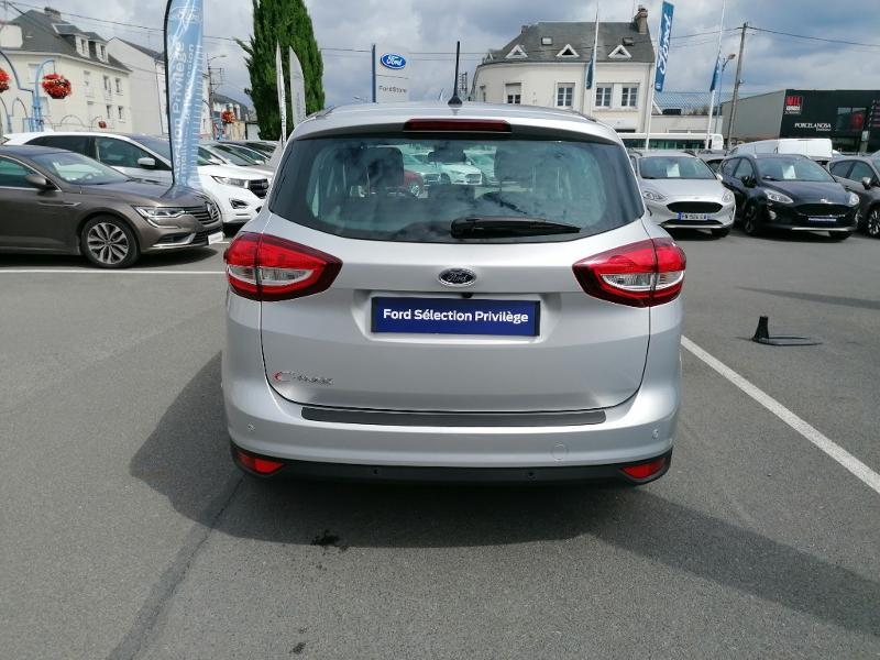 Ford C-Max 1.0 EcoBoost 125ch Stop&Start Titanium Euro6.2 Gris occasion à Fleury-les-Aubrais - photo n°5