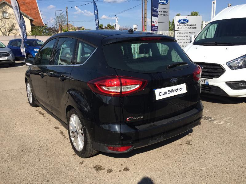 Ford C-Max 1.0 EcoBoost 125ch Stop&Start Titanium Euro6.2 Noir occasion à Beaune - photo n°6