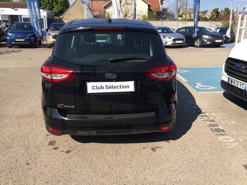 Ford C-Max 1.0 EcoBoost 125ch Stop&Start Titanium Euro6.2 Noir occasion à Beaune - photo n°5