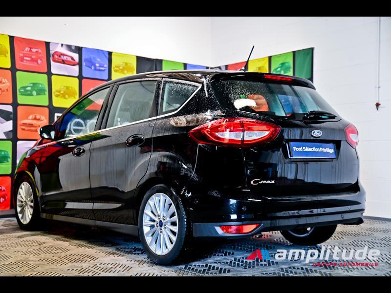 Ford C-Max 1.0 EcoBoost 125ch Stop&Start Titanium Euro6.2 Noir occasion à Dole - photo n°4