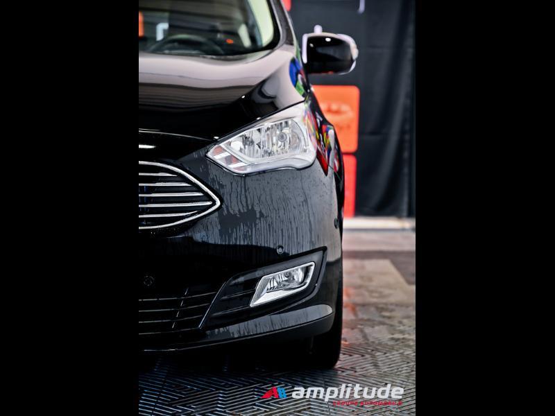 Ford C-Max 1.0 EcoBoost 125ch Stop&Start Titanium Euro6.2 Noir occasion à Dole - photo n°15