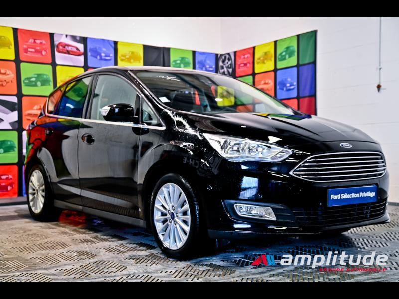 Ford C-Max 1.0 EcoBoost 125ch Stop&Start Titanium Euro6.2 Noir occasion à Dole
