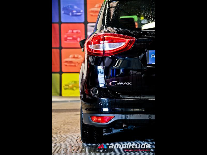 Ford C-Max 1.0 EcoBoost 125ch Stop&Start Titanium Euro6.2 Noir occasion à Dole - photo n°10