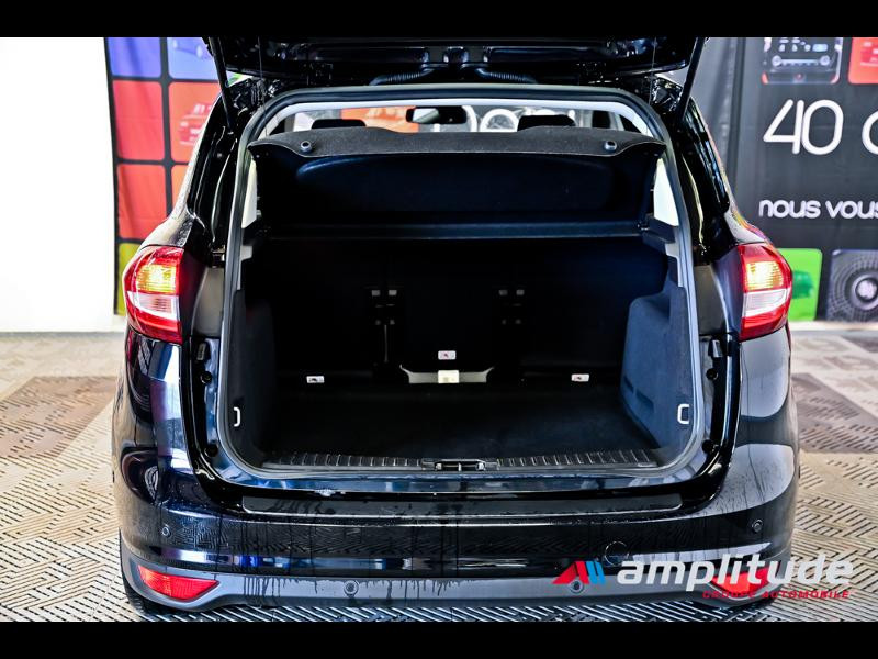 Ford C-Max 1.0 EcoBoost 125ch Stop&Start Titanium Euro6.2 Noir occasion à Dole - photo n°11
