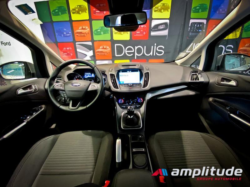 Ford C-Max 1.0 EcoBoost 125ch Stop&Start Titanium Euro6.2 Gris occasion à Dijon - photo n°7