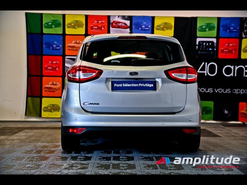 Ford C-Max 1.0 EcoBoost 125ch Stop&Start Titanium Euro6.2 Gris occasion à Dijon - photo n°5