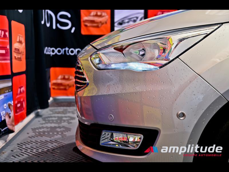 Ford C-Max 1.0 EcoBoost 125ch Stop&Start Titanium Euro6.2 Gris occasion à Dijon - photo n°18