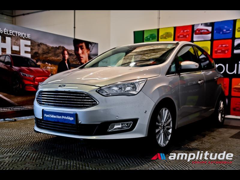 Ford C-Max 1.0 EcoBoost 125ch Stop&Start Titanium Euro6.2 Gris occasion à Dijon - photo n°3