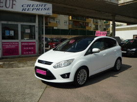 Ford C-Max 1.0 SCTI 125CH ECOBOOST STOP&START TITANIUM Blanc occasion à Toulouse - photo n°1