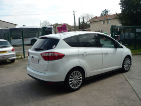 Ford C-Max 1.0 SCTI 125CH ECOBOOST STOP&START TITANIUM Blanc occasion à Toulouse - photo n°4