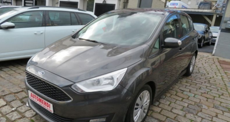 Ford C-Max 1.5 TDCI 120CH STOP&START BUSINESS NAV Gris occasion à Juvisy sur Orge - photo n°3