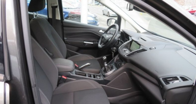 Ford C-Max 1.5 TDCI 120CH STOP&START BUSINESS NAV Gris occasion à Juvisy sur Orge - photo n°2