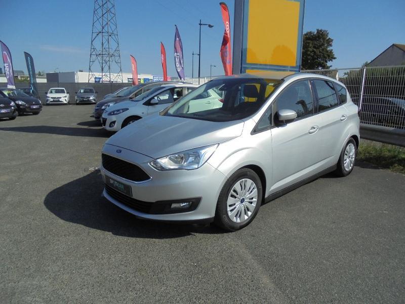 Ford C-Max 1.5 TDCi 95ch Stop&Start Trend Business Euro6.2 Gris occasion à Corbeil-Essonnes - photo n°2