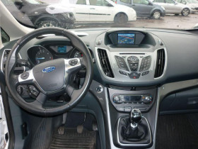 Ford C-Max 1.6 TDCi 110ch DPF Titanium Blanc occasion à Portet-sur-Garonne - photo n°9