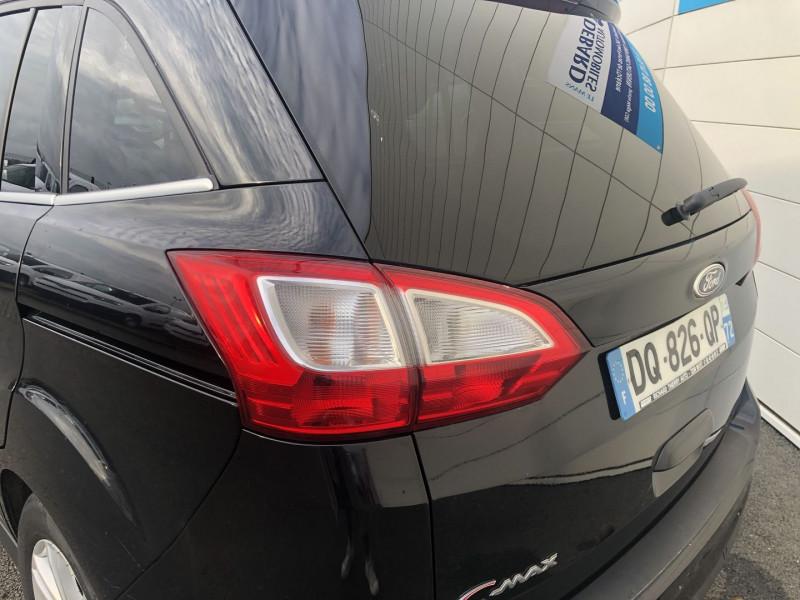 Ford C-Max 1.6 TDCI 115CH FAP TITANIUM X Noir occasion à Saint-Saturnin - photo n°6