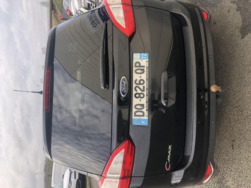 Ford C-Max 1.6 TDCI 115CH FAP TITANIUM X Noir occasion à Saint-Saturnin - photo n°5