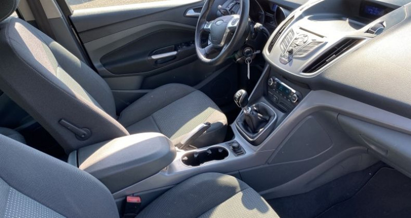 Ford C-Max 1.6 TDCI 115CH FAP TITANIUM Gris occasion à VOREPPE - photo n°3