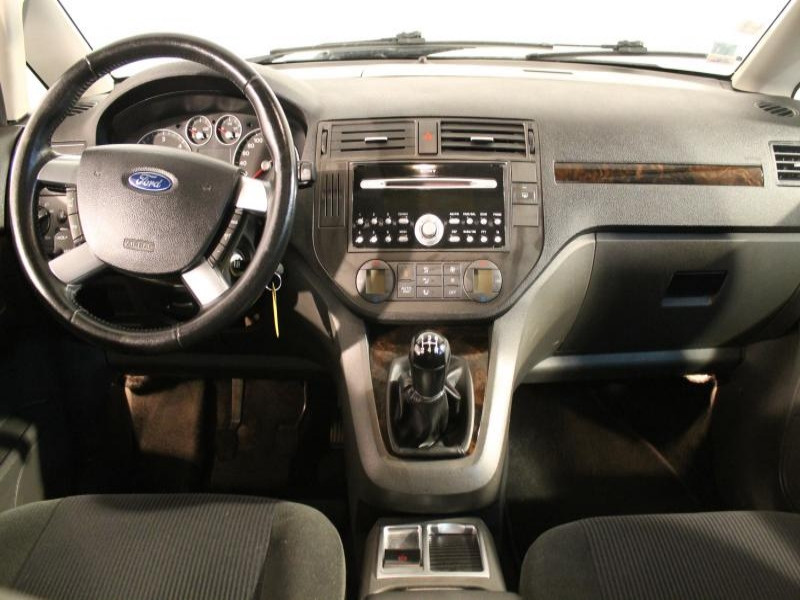 Ford C-Max 1.8 TDCI GHIA 115 Gris occasion à Brest - photo n°4