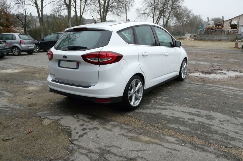 Ford C-Max 2.0 TDCI Titanium Blanc occasion à Beaupuy - photo n°2