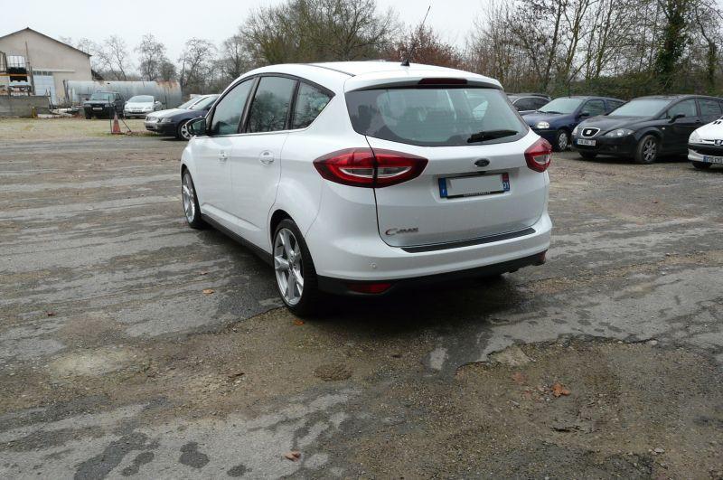 Ford C-Max 2.0 TDCI Titanium Blanc occasion à Beaupuy - photo n°4
