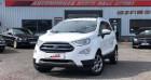 Ford EcoSport 1.0 EcoBoost 100ch Titanium Blanc à Vire 14