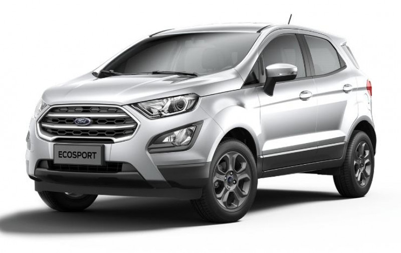 Ford EcoSport 1.0 EcoBoost 100ch Trend Euro6.2 Gris occasion à DRAGUIGNAN