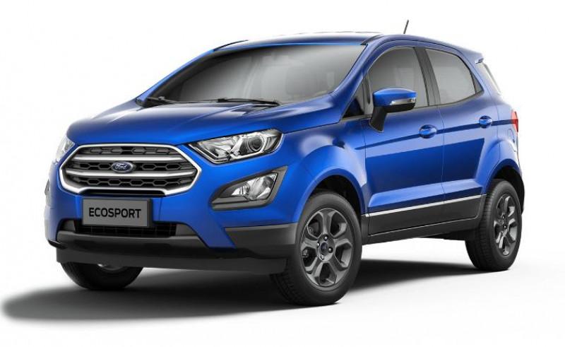 Ford EcoSport 1.0 EcoBoost 125ch ST-Line BVA6 Euro6.2 Bleu occasion à VILLE LA GRAND