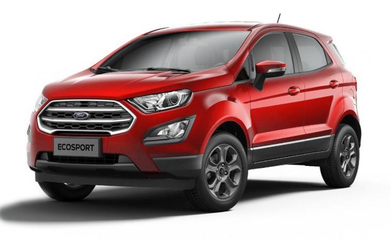 Ford EcoSport 1.0 EcoBoost 125ch ST-Line BVA6 Euro6.2 Rouge occasion à AIX-EN-PROVENCE