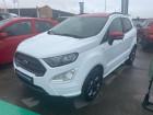 Ford EcoSport 1.0 EcoBoost 125ch ST-Line BVA6 Euro6.2 Blanc à Barberey-Saint-Sulpice 10