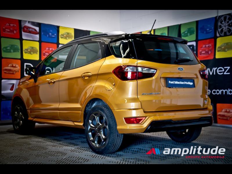 Ford EcoSport 1.0 EcoBoost 125ch ST-Line Euro6.2 Orange occasion à Chenôve - photo n°4