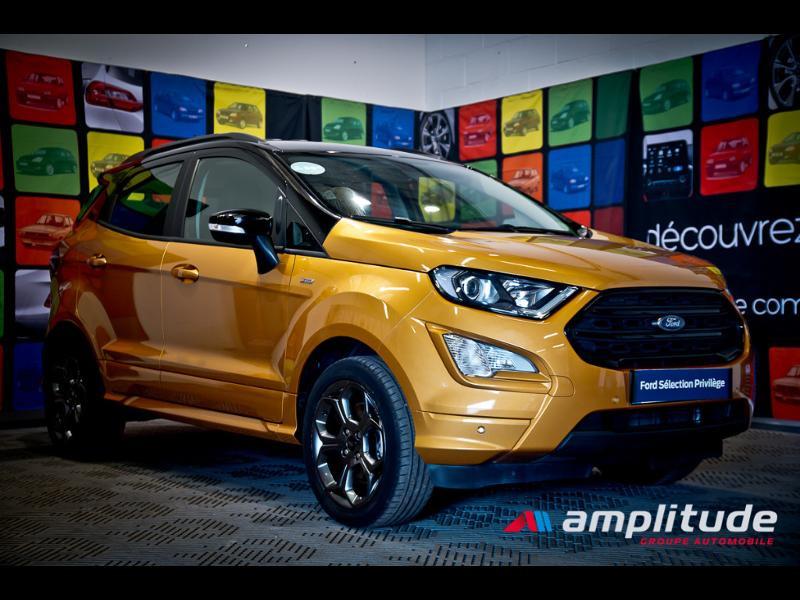 Ford EcoSport 1.0 EcoBoost 125ch ST-Line Euro6.2 Orange occasion à Chenôve