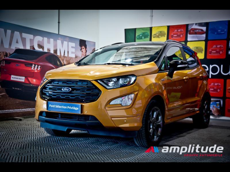 Ford EcoSport 1.0 EcoBoost 125ch ST-Line Euro6.2 Orange occasion à Chenôve - photo n°3