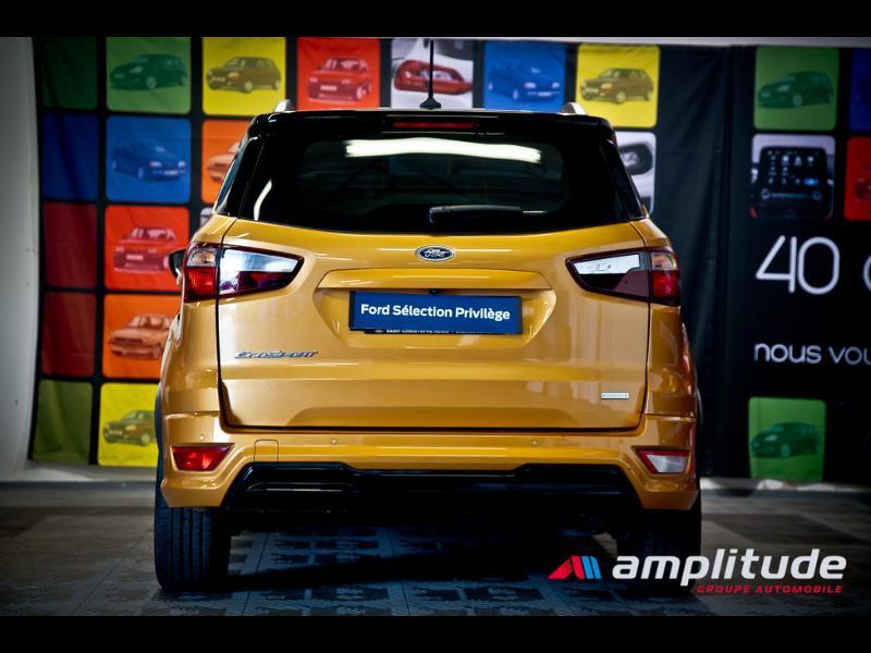 Ford EcoSport 1.0 EcoBoost 125ch ST-Line Euro6.2 Orange occasion à Chenôve - photo n°5