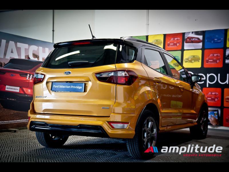 Ford EcoSport 1.0 EcoBoost 125ch ST-Line Euro6.2 Orange occasion à Chenôve - photo n°6
