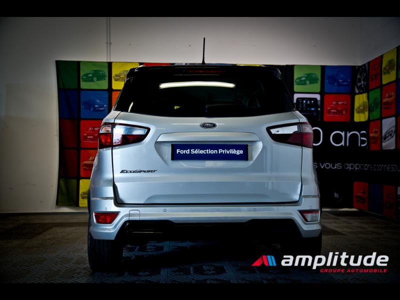 Ford EcoSport 1.0 EcoBoost 125ch ST-Line Euro6.2 Gris occasion à Beaune - photo n°5