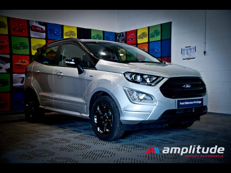 Ford EcoSport 1.0 EcoBoost 125ch ST-Line Euro6.2 Gris occasion à Beaune