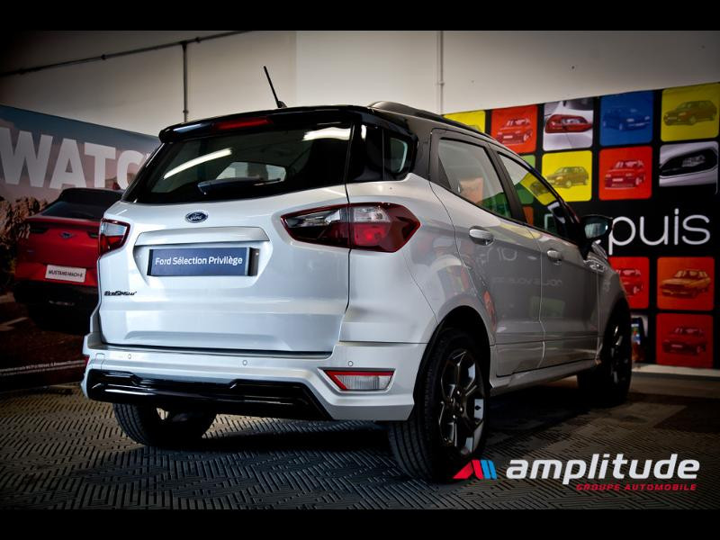 Ford EcoSport 1.0 EcoBoost 125ch ST-Line Euro6.2 Gris occasion à Beaune - photo n°6