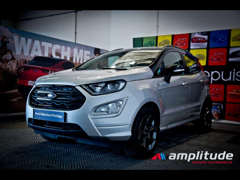 Ford EcoSport 1.0 EcoBoost 125ch ST-Line Euro6.2 Gris occasion à Beaune - photo n°3