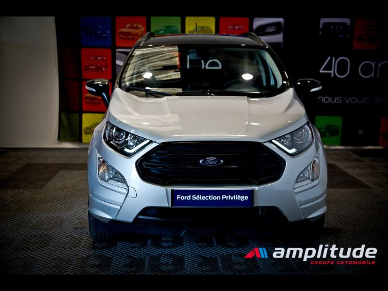 Ford EcoSport 1.0 EcoBoost 125ch ST-Line Euro6.2 Gris occasion à Beaune - photo n°2