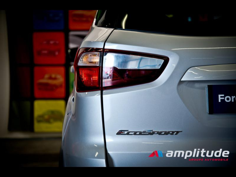 Ford EcoSport 1.0 EcoBoost 125ch ST-Line Euro6.2 Gris occasion à Beaune - photo n°8