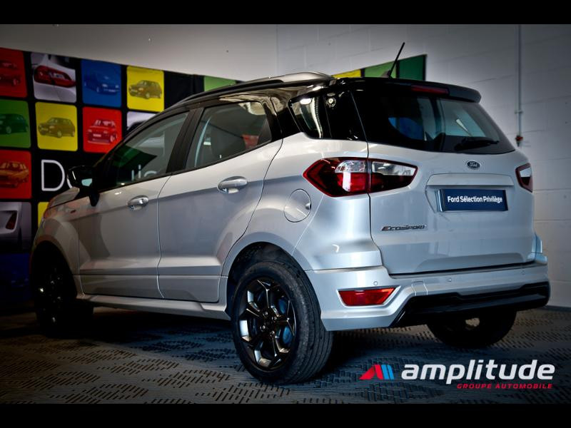 Ford EcoSport 1.0 EcoBoost 125ch ST-Line Euro6.2 Gris occasion à Beaune - photo n°4