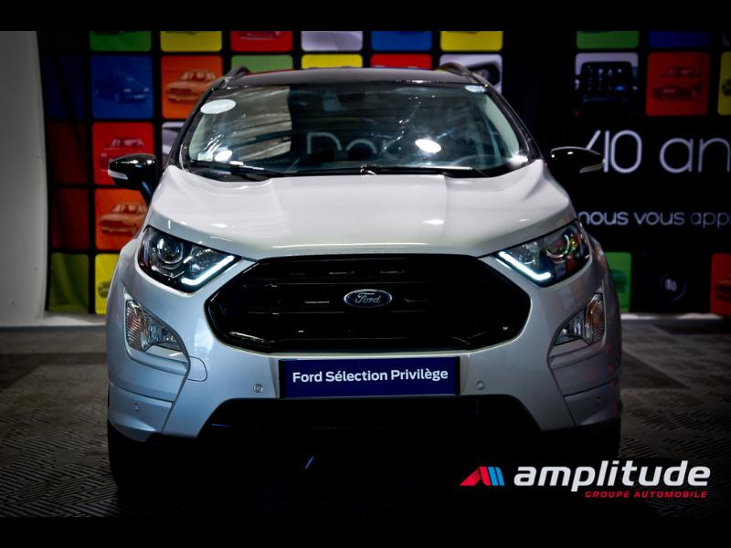 Ford EcoSport 1.0 EcoBoost 125ch ST-Line Euro6.2 Gris occasion à Dijon - photo n°15